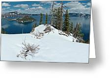 Discovery Point Panorama Greeting Card