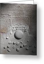 Discovery With White Stones Greeting Card