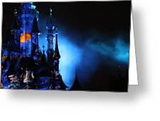 Disney Blues At Night  Greeting Card