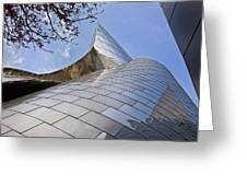 Disney Concert Hall 2 Greeting Card
