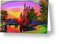 Disney Fantasy Art Greeting Card