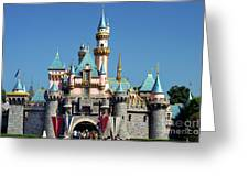 Disneyland Castle Greeting Card