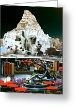 Disneyland Tomorrowland - Pop Color Greeting Card