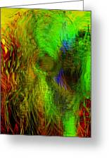 Dissolution Greeting Card by Linda Sannuti