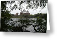 Distant Everest Greeting Card