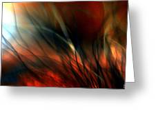 Distant Fire Greeting Card