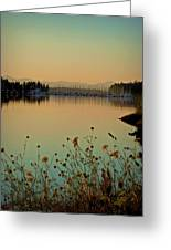 Distant Harbor Greeting Card