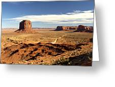 Distant Monument Greeting Card