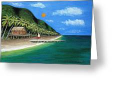 Distant Shores Greeting Card