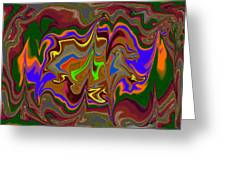 Distorted Dreams Greeting Card