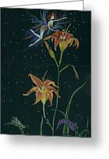 Ditchweed Fairy Daylily Greeting Card