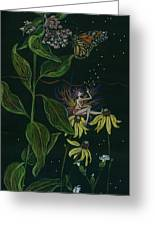 Ditchweed Fairy Milkweed Greeting Card