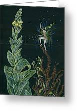 Ditchweed Fairy Mullein Greeting Card