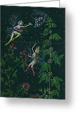 Ditchweed Fairy Raspberry Picking Greeting Card