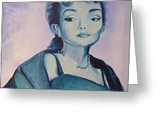 Diva I Maria Callas  Greeting Card