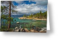 Divers Cove At Lake Tahoe Greeting Card