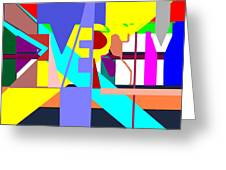 Diversity Enmeshed Greeting Card