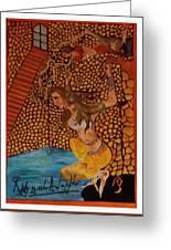 Divine Bath Greeting Card