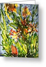 Divine Blooms-21061 Greeting Card
