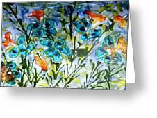 Divine Blooms-21180 Greeting Card