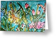 Divine Blooms-21191 Greeting Card