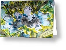 Divine Blooms-21195 Greeting Card
