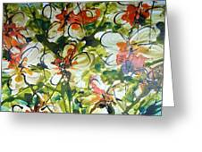 Divine Blooms-21203 Greeting Card