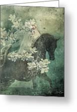 Divine Horse Whisperer Greeting Card