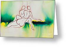Divine Love Series No. 2090 Greeting Card
