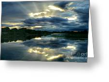 Divine Rays Greeting Card