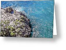 Diving In Italy Greeting Card