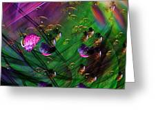 Diving The Reef Series - Hallucinations Greeting Card