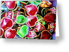 Diwali Decorations 3 Greeting Card