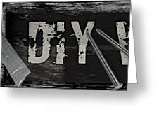 Diy Warrior Greeting Card