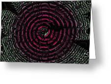 Dizzy Wheel Greeting Card