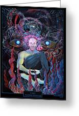 Dmt - The Spirit Molecule Greeting Card by Steve Griffith