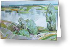 Dnepro River Greeting Card
