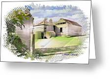 Do-00027 Old Cottage Greeting Card
