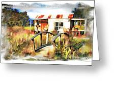 Do-00035 Cottage Greeting Card