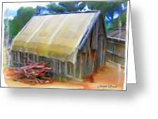 Do-00069 Small Hut Greeting Card