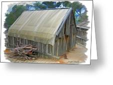 Do-00070 Small Cabin Greeting Card
