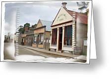 Do-00098 Town Centre - Sovereign Hill Greeting Card