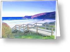 Do-00103 Frasier Beach Greeting Card