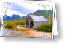 Do-00107 Boat House Greeting Card