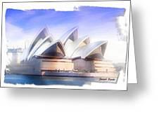 Do-00109 Opera House Greeting Card