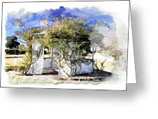 Do-00118 Gazebo Greeting Card