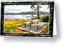 Do-00126 Picnic Spot Greeting Card