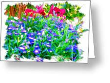 Do-00221 Flowers Greeting Card