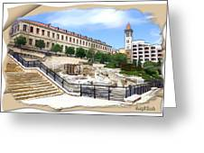 Do-00364 Old Serail Greeting Card