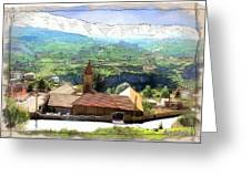 Do-00434 Church In North Lebanon Greeting Card